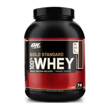 Harga Optimum Nutrition Gold Standard Whey 5 lbs (Double Chocolate)