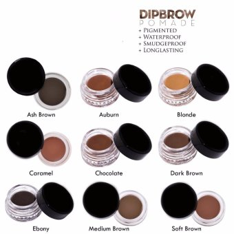 J&J DIPBROW Pomade Eyebrow (Medium Brown) Price Philippines