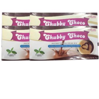 Harga Sakura Chubby Choco Cocoa Drink Mix for Weight Gain Set of 4