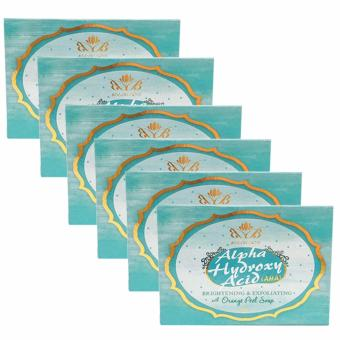 Harga Beaublends AHA Brightening and Exfoliating with Orange Peel Soap set of 6