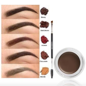 Ashley Eyebrow Brush with Dipbrow Pomade- Chocolate Price Philippines