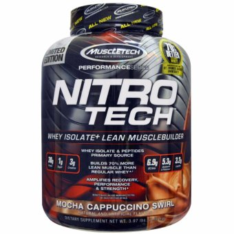 Muscletech Nitrotech 4 lbs. Mocha Price Philippines