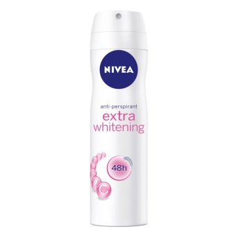 Harga Nivea Extra Whitening Spray Deodorant 150ml