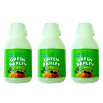 Harga Health Wealth Green Barley Health Drink Set of 3