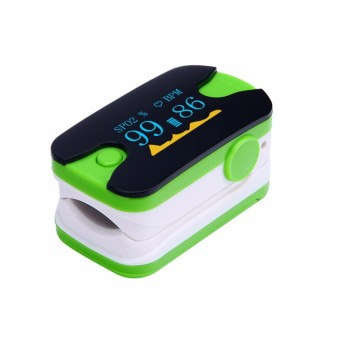 Harga YL-89 Fingertip Pulse Oximeters SPO2 Monitor Home Health Care (Green) - Intl