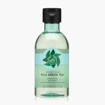 Harga The Body Shop Fuji Green Tea Shower Gel 250 mL