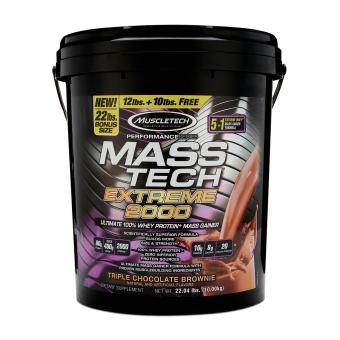 Muscletech Mass Tech Extreme 2000 (Triple Chocolate Brownie) 22 lbs Price Philippines