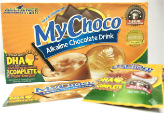 Harga Alliance Global My Choco Alkaline Chocolate Drink Box of 20