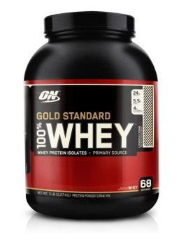 Harga Optimum Nutrition Gold Standard 100% Whey 5lbs (Cookies & Cream)