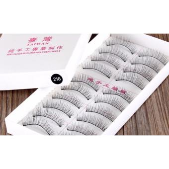 BM Taiwan Natural Black Long False Eyelashes #216 (10 Pairs) Price Philippines