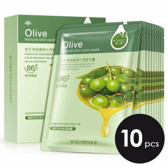 ROREC Natural Skin Care Mask Olive (10pcs) Price Philippines