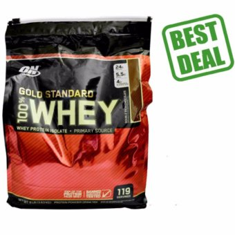 Optimum Nutrition Gold Standard 100% Whey 8lb Chocolate Price Philippines