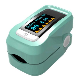 Harga Fingertip Pulse Oximeters Health Monitors Tests (Green) - intl