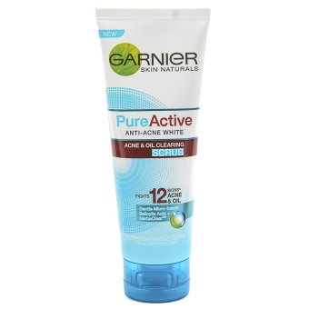 Harga Garnier Pure Active Scrub 100ml