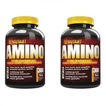 Mutant Amino 390g Tablets Bottle of 300 (Set of 2) Price Philippines