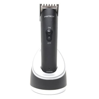 Harga Pritech PR-1018 Professional Electric Hair Clipper and Trimmer for Men (Black)