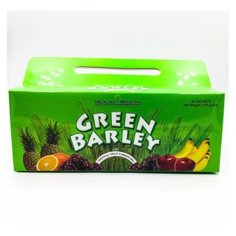 Health & Wealth green barley powder 30 sachets Price Philippines