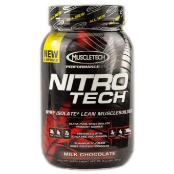 Muscletech Nitro-tech Performance Series Whey Protein Isolate -2lbs Milk Chocolate Price Philippines
