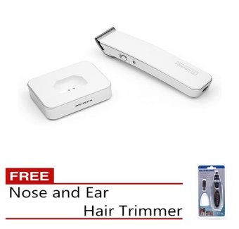 Harga Pritech iTrimmer 1288 Hair Trimmer White Free Nose and Ear Hair Trimmer