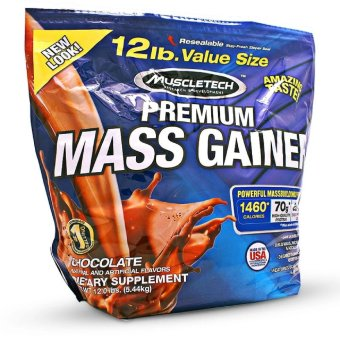 Muscletech Premium Mass-Gainer 12 lbs Powerful Mass-building formula Chocolate Price Philippines