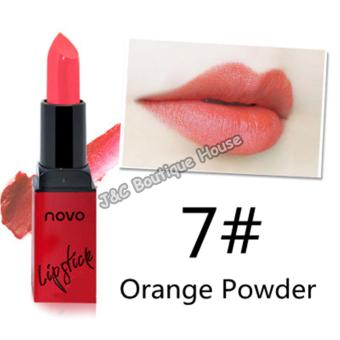 Harga J&C Korea NOVO Smooth Lipstick does not stick the cup does not fade moisturizing lipstick #7