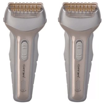 Harga Gemei GM 8900 Rechargeable Shaver Set of 2