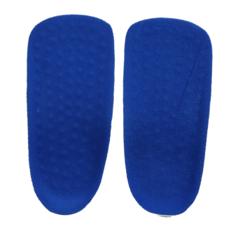 PU Memory Foam Arch Support Heel Cup Hight Increase In Sock Pads Insoles - intl Price Philippines