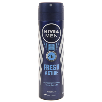 Harga Nivea Men Fresh Active Spray