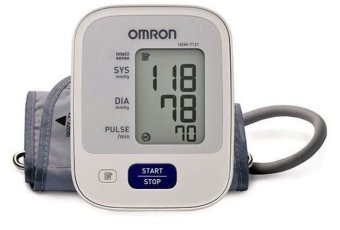 Harga Automatic Arm Type Blood Pressure Monitor Brand Omron HEM-7121 (White)