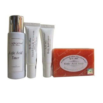 Harga Dr. Alvin Professional Skin Care Formula Kojic Acid Facial Set for Dry Skin