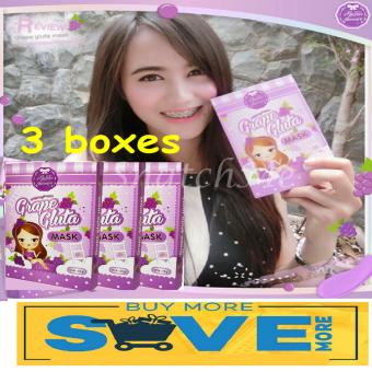 Grape Gluta Mask 3x Price Philippines