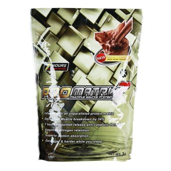 Harga ProMatrix 7 Multiple Source Protein 2lbs (Triple Chocolate)