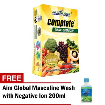 Harga Aim Global Complete Phyto Energizer with Free Aim Global Masculine Wash