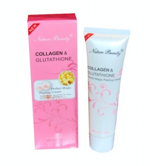 Harga Nature Beauty Collagen and Glutathione Peeling Cream 100g