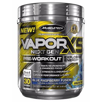 Muscletech Vapor X5 30 Serve Blue Raspberry Price Philippines