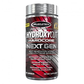 MuscleTech Hydroxycut Hardcore Next Gen, Next Generation Weight Loss & Extreme Sensory, 100 Capsules Price Philippines