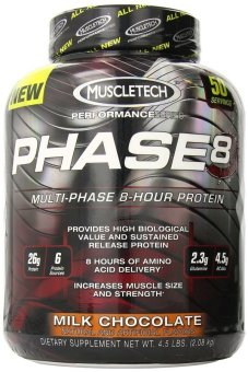 Muscletech Phase 8 Susatined Release Protein Milk Chocolate Flavor2.08kg Price Philippines