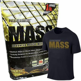 Harga Promatrix Mass Advanced Muscle Mass Gainer 6lbs with Dri Fit Shirt