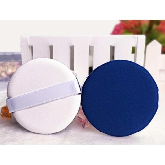 Harga Soft Face Powder Puff Sponge Dry / Wet Facial Foundation Makeup Cosmetic Tools - intl