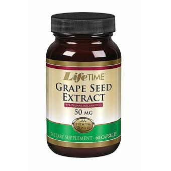 Harga LifeTime Grape Seed Extract 50 mg 60 Capsules