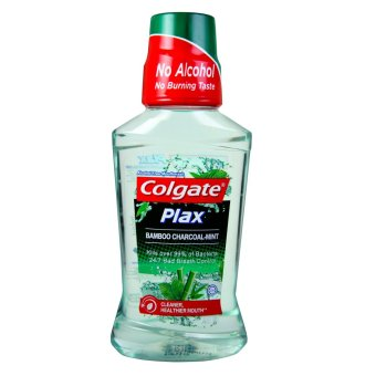 Colgate Plax Bamboo Charcoal Mint Mouthwash 250ml Price Philippines