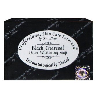 Dr. Alvin Professional Skin Care Formula Black Charcoal Detox Soap Price Philippines
