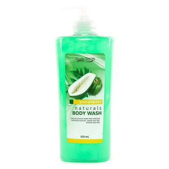 Harga BODY TREATS BODY WASH PAPAYA GREEN
