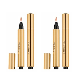 Harga 2 x Yves Saint Laurent Touche Éclat Radiant Touch 0.1oz, 2.5ml 01 Luminous Radiance - intl