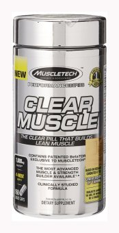 MuscleTech Clear Muscle, Advanced Muscle and Strength Building Formula, 168 Liquid Capsules Price Philippines