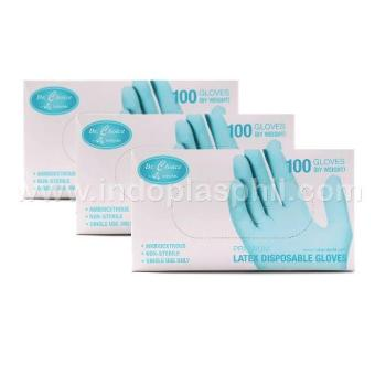 Dr. Choice Premium Disposable Gloves Box of 100 - Sold in 3 boxes (Medium) Price Philippines