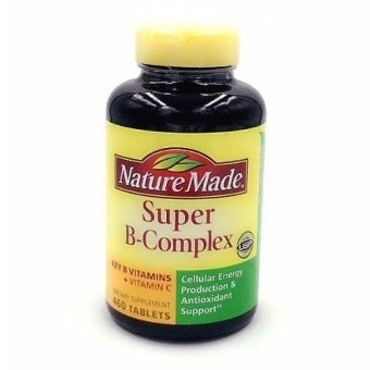 Harga Nature Made Super B-Complex 460 Tablets