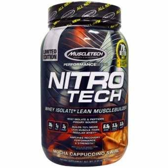 Muscletech Nitrotech 2 lbs. Mocha Price Philippines