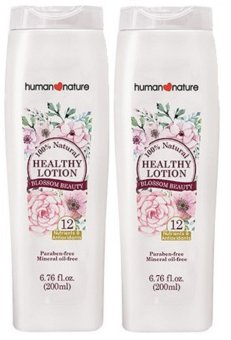 Harga Human Heart Nature Healthy Lotion Blossom Beauty 200ml Set of 2
