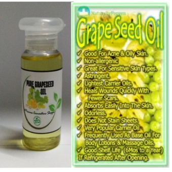 PURE ORGANIC GRAPESEED OIL 50ml Price Philippines